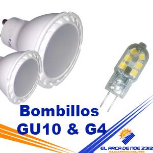 Bombillos GU10 & G4