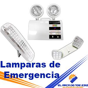 Lamparas de Emergencia