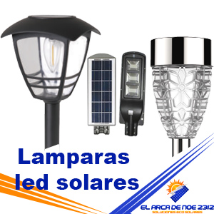 Lamparas led solares
